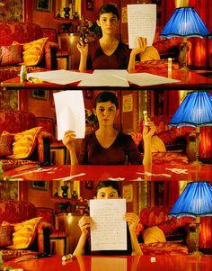 アメリ 赤い部屋+ブルーのランプ