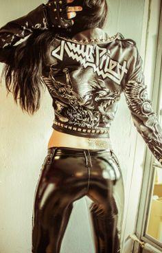 toxicvisionclothing:    Judas Priest jacket