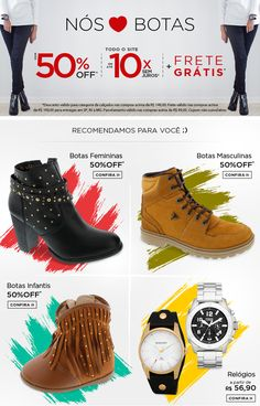#email #emailmkt #marketing #mkt #webdesign #design #best #comercial #photoshop #ecommerce #criacao #creation #layout #shoes #sapato #calcado #moda #look #woman #mulher