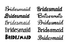 Bride Shirt Iron On Wedding Iron On Iron On Letters - Glitter custom vinyl decals for shirts