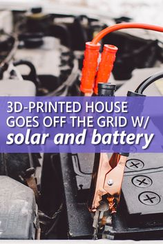 3D-Print Your Way Off the Grid ...  Learn about this 3D-printed house that has a sustainability play. It is off the grid gathering power from solar panels and vehicles. Could this be the home of the future?  Image credit: Pawel Kadysz (https://stocksnap.io/photo/T7T37KWY8G?utm_content=bufferd3c41&utm_medium=social&utm_source=pinterest.com&utm_campaign=buffer)