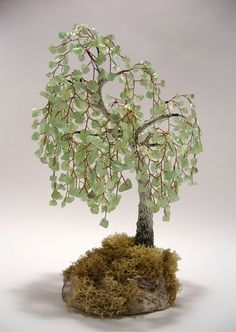 Beaded Trees - awesome to see - IndusLadies