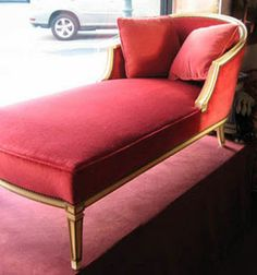 Go's chaise redone.  I want this so bad!!!