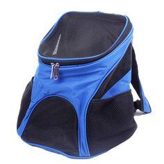 Portable Pet Dog Travel Double Shoulder Backpack