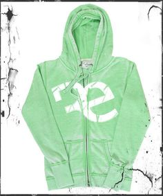 Revici Special Edition RE Womens Hoodie in Grass Green