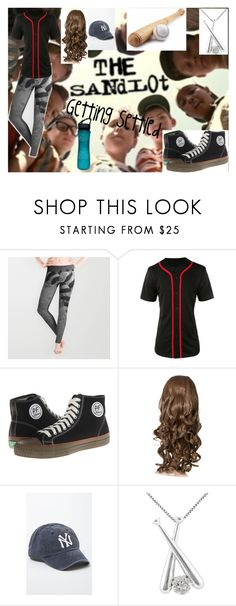 """Getting Settled"" by nicolemr01 ❤ liked on Polyvore featuring LE3NO, PF Flyers, American Needle, Jewel Exclusive and Gaiam"