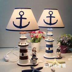 Click the pict for details Mediterranean-style wooden lighthouse lamp/table lamp for living room bedroom decoration Table Lamps For Bedroom, Bedroom Decor, Lamp Table, Desk Lamp, Lighthouse Lamp, China Lights, Study Room Decor, Wooden Desk, Beach Crafts