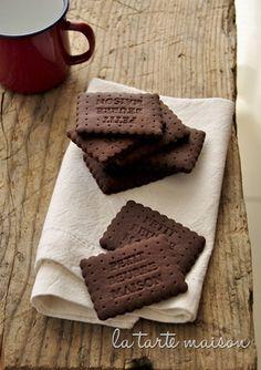 Cocoa Petits Beurre Maison  ...  BLOG ITALIEN ...