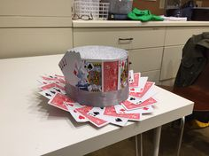 Magician card trick hat for a child's themed crazy hat day at school
