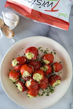 Stuffed Peppadew Peppers - What's Gaby Cooking