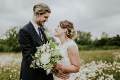 White Bridal Bouquet - Darina Stoda Photography | At Home Tipi Wedding