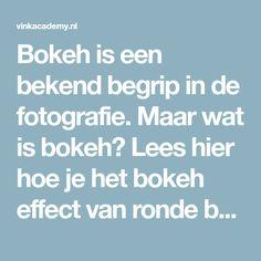 Bokeh is een bekend begrip in de fotografie. Maar wat is bokeh? Lees hier hoe je het bokeh effect van ronde bollen in de foto krijgt!
