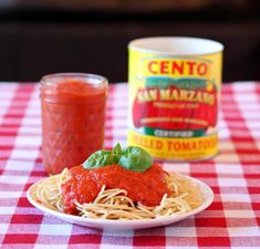 San Marzano Pasta Sauce - good start, but try adding onions, carrots and celery next time
