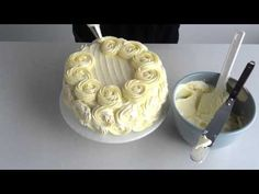 How to ice roses