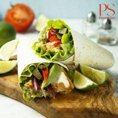 Crispy Chicken Wraps, Crispy Chicken Tenders, Easy Weekday Meals, Easy Meals, Meat Markets, Lettuce, Poultry, Avocado, Veggies
