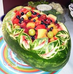 Such a cool way to serve fruita at a BBQ http://www.naptimecards.com/blog/sample%2520cards/100_2450.jpg
