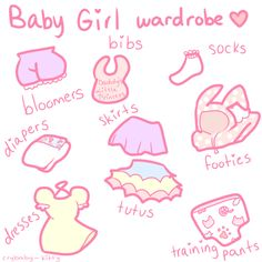 crybaby-kitty:  a wardrobe fit for a princess baby girl ♡