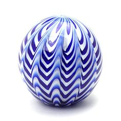 Dynasty Gallery Art Glass Royal Blue Chevron Paperweight ... http://www.amazon.com/dp/B01BHNXWNU/ref=cm_sw_r_pi_dp_jTVvxb09KM9ZG