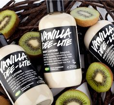 Vanilla Dee-Lite Body Lotion - Lush Cosmetics
