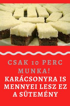 Hungarian Recipes, Special Recipes, Sweet And Salty, Winter Food, Cakes And More, Breakfast Recipes, Food And Drink, Yummy Food, Sweets