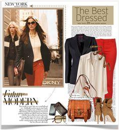 """New York City Style."" by malisha ❤ liked on Polyvore"