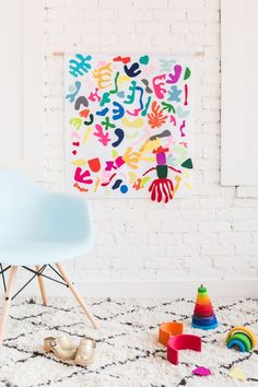 Diy Home : Illustration Description DIY Matisse Felt Board -Read More – Craft Projects For Adults, Crafts For Kids To Make, Fun Projects, Diy And Crafts, Kids Crafts, Craft Ideas, Diy Baby Gifts, Baby Crafts, Matisse