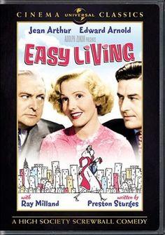 Easy Living, 1937 Jean Arthur, Ray Milland, Edward Arnold