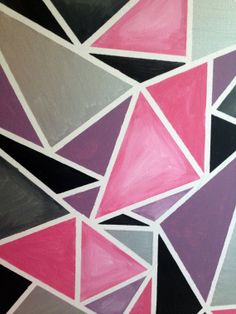 Modern Geometric Painting - Please, somebody buy my art.