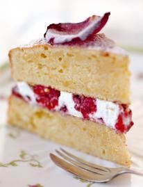 This classic afternoon tea Victoria sponge recipe is about precision sponge making, wonderful jam and gorgeous Jersey cream