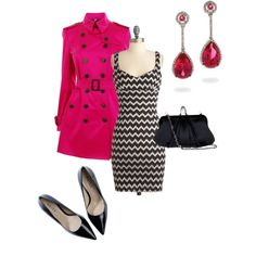 """zig zags"" by mikaelasiemens on Polyvore"