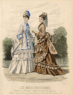 Les Modes Parisiennes 1873