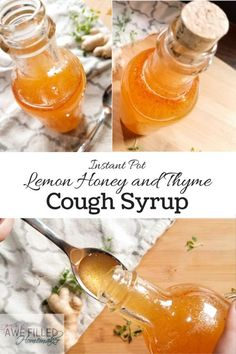 Want to learn to make your own cough syrup Never fear its easy using your instant pot via AFHomemaker Cold Remedies, Natural Health Remedies, Herbal Remedies, Bloating Remedies, Natural Medicine, Herbal Medicine, Ayurveda, Health Tips, Health And Wellness
