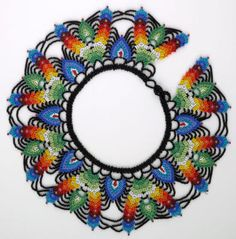 Folk Art Market artists use proceeds from beadwork to improve lives Hand Painted Furniture, Art Market, Seed Beads, Folk Art, Needlework, Beaded Necklace, Beadwork, Gifts, Mexico Culture