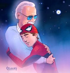 Remembering Stan Lee: Fans All Over the World Honor Marvel's Legend by Creating Touching Tribute Art Drawing Cartoon Characters, Character Drawing, Marvel Characters, Comic Character, Cartoon Drawings, Marvel Drawings, Marvel Comics, Marvel Art, Marvel Heroes
