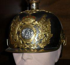 Casco Mod. 1909 Oficial. Lanceros de España