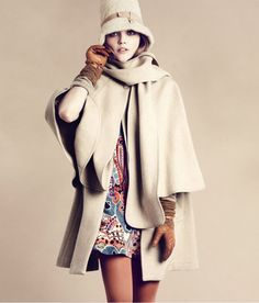 Sasha Pivovarova for H Fall 2011 | Fashion Gone Rogue: The Latest in Editorials and Campaigns