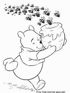 Winnie the POOH Bear Milne Illustration