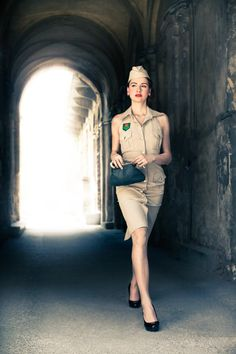 Hey, I found this really awesome Etsy listing at http://www.etsy.com/listing/73730142/safari-pin-up-dress-with-hat