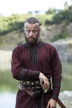 Vikings Season 4 King Harald Finehair played by Peter Franzén