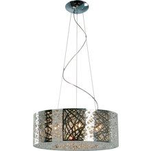 View the ET2 E21308 Nine Light Pendant Ceiling Fixture from the Inca Collection at LightingDirect.com.