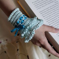 This listing is for PATTERN in PDF format, not the actual cuff. This beautiful and sophisticated Lace Cuff is made of mercerized cotton thread. Pattern allows you to adjust it to your wrist size. Difficulty level: medium Needed knowledge (US abbreviations): * chain * slip stitch