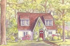 Tudor Style Homes and the Arts and Crafts Movement
