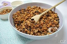 Křupavé domácí müsli - Ciabatta, Muesli, Cereal, Beans, Vegetables, Breakfast, Food, Fitness, Recipes