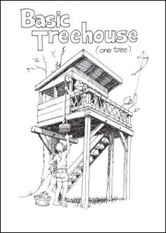The Treehouse Guide - Plans, books and other sources