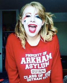 Arkham Asylum ( Harley Quinn ) Hoodie
