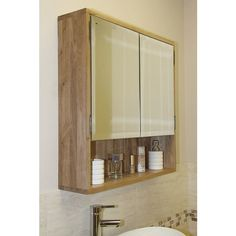 Three Tier 90cm Tall Three Box Solid Oak Bathroom Storage Stand ...