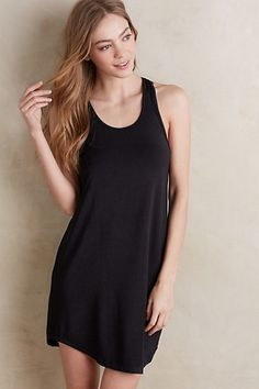Laced Racerback Chemise #anthropologie