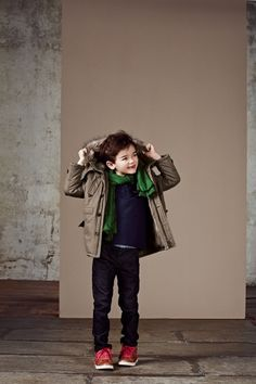 Jean Bourget Kid boy, Cool and Chic