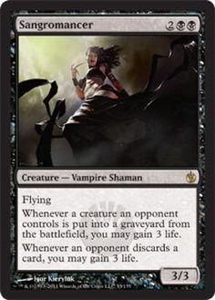 Sangromancer-x4-Magic-the-Gathering-4x-Mirrodin-Besieged-mtg-card-lot-vampire