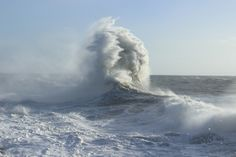 ~ Porthcawl gales ~ December 27, 2013 ~ Wales ~ the coast has been battered ~